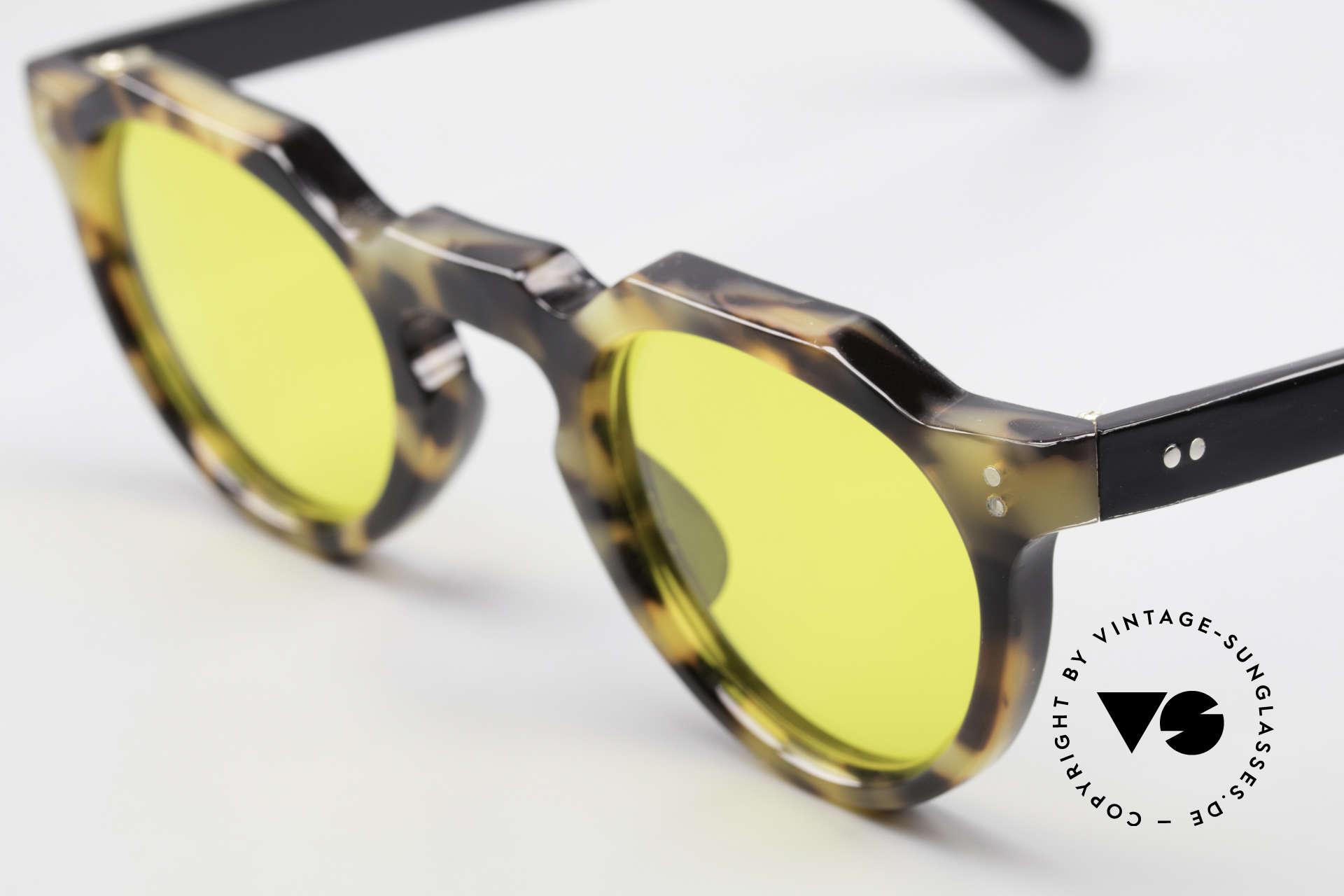 Lesca Panto 6mm 60er Panto Brille Frankreich, made in Frankreich, jedoch OHNE Rahmen-Aufdrucke, Passend für Herren und Damen