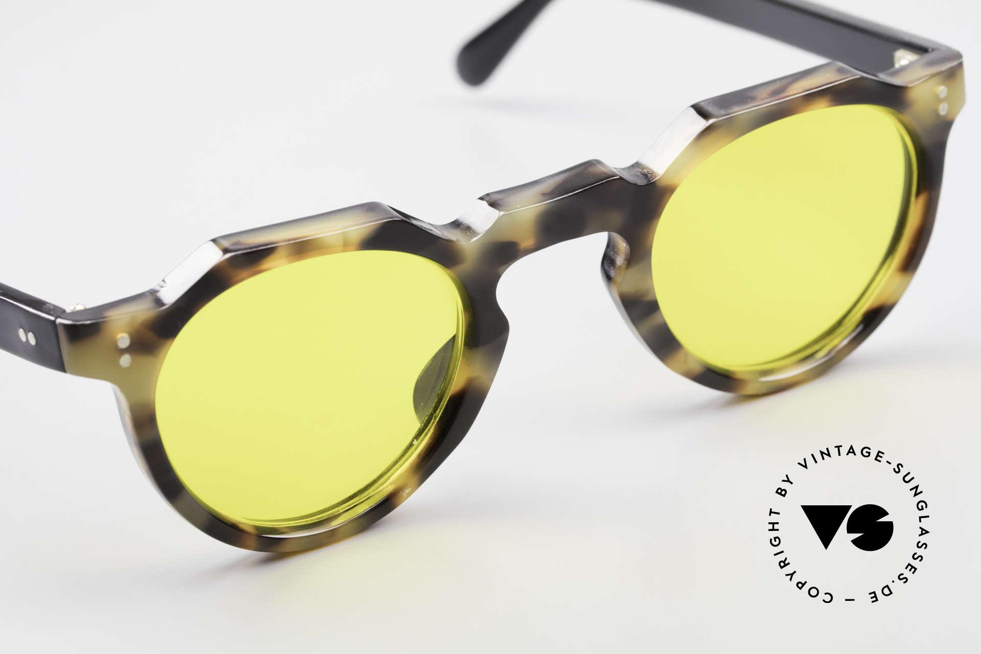Lesca Panto 6mm 60er Panto Brille Frankreich, Mod. für echte vintage Kenner / Experten / Liebhaber, Passend für Herren und Damen
