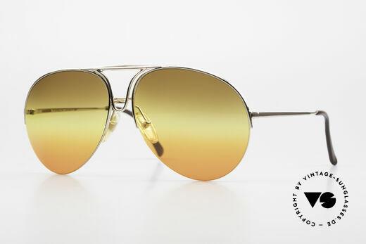 Porsche 5627 Nylor Aviator Sonnenbrille Details
