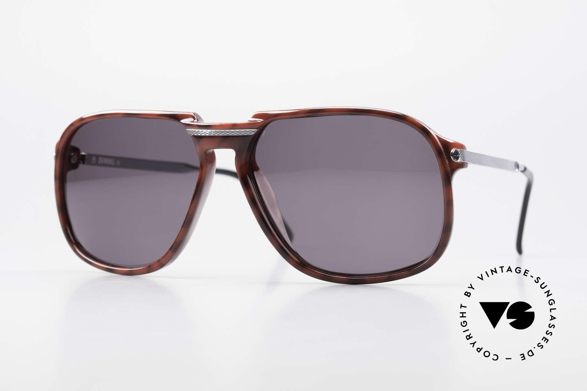 Dunhill 6005 Alte Herrensonnenbrille 1984, echte, alte Dunhill Herren-Sonnenbrille von 1984, Passend für Herren