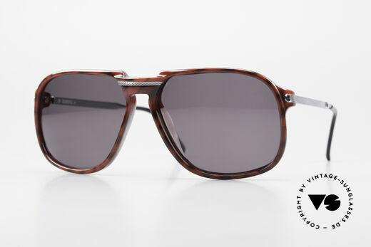 Dunhill 6005 Alte Herrensonnenbrille 1984 Details