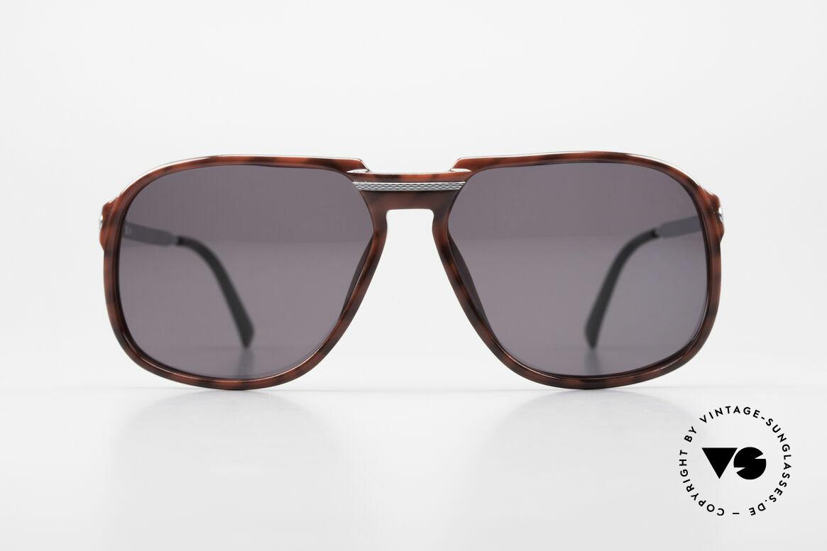 """Dunhill 6005 Alte Herrensonnenbrille 1984, sehr elegante Optyl-Front in """"schildpatt bordeaux"""", Passend für Herren"""