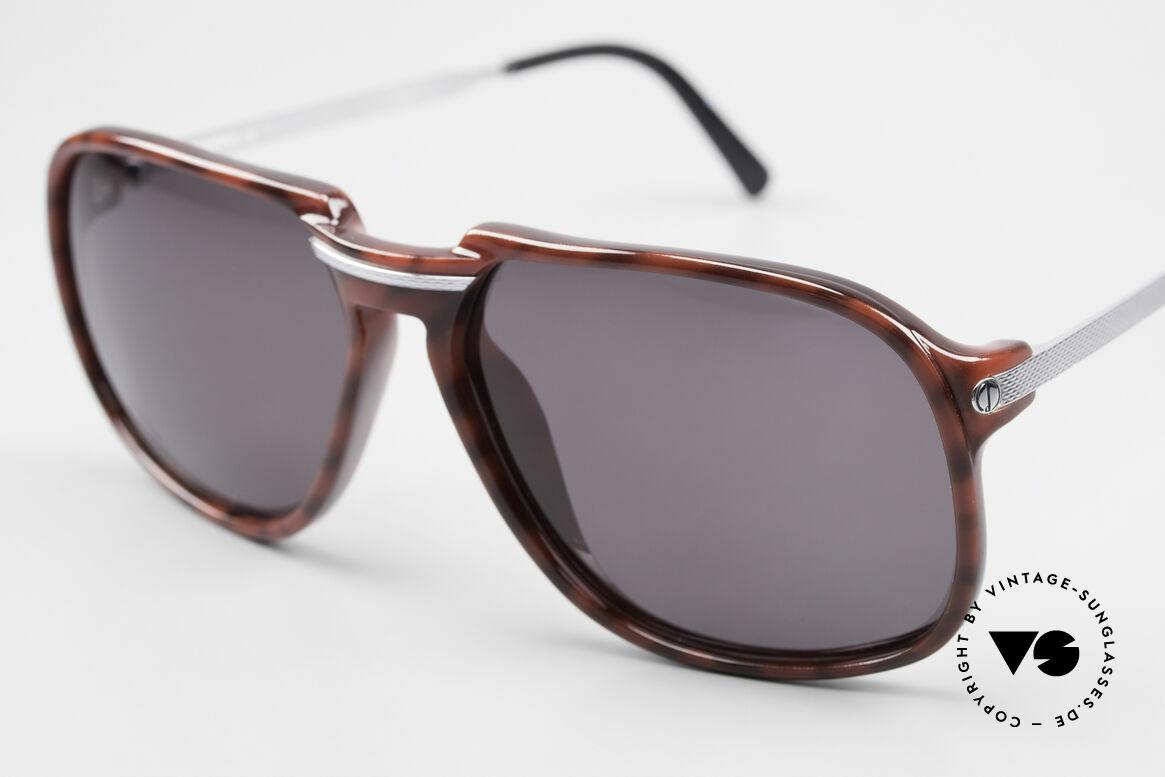 Dunhill 6005 Alte Herrensonnenbrille 1984, absolute Speerspitze in Sachen Qualität & Eleganz, Passend für Herren