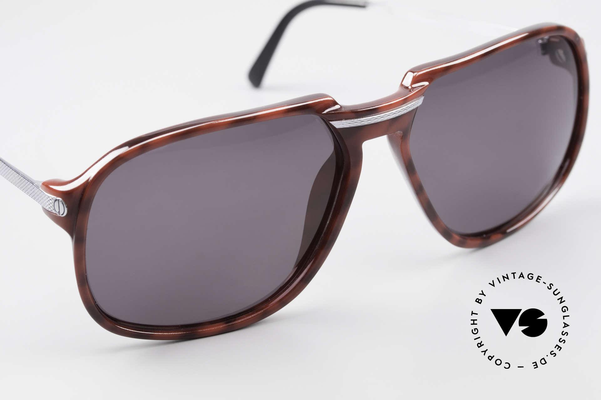 Dunhill 6005 Alte Herrensonnenbrille 1984, ungetragen (wie alle unsere Brillen von A. Dunhill), Passend für Herren