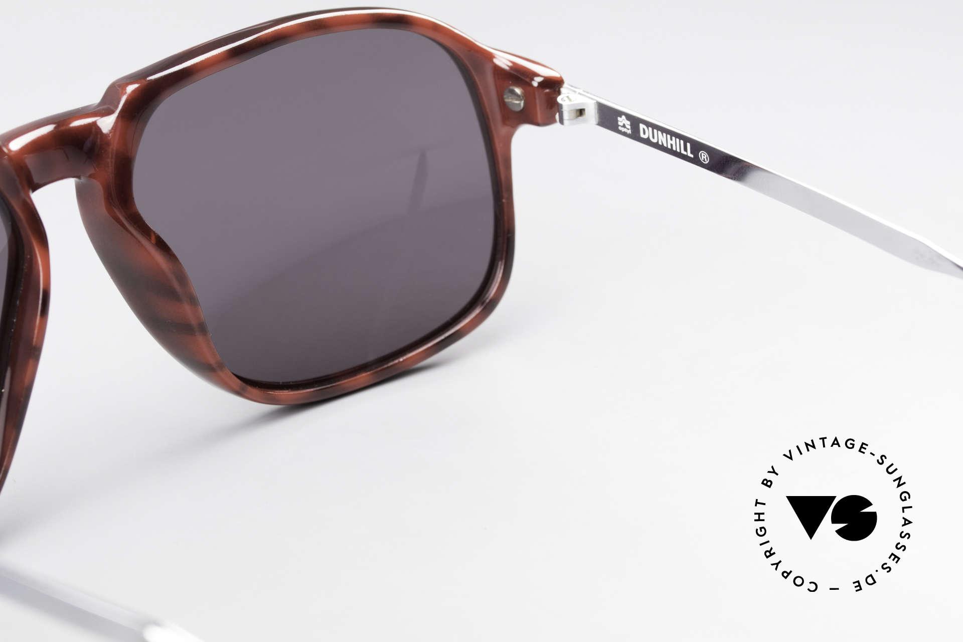 Dunhill 6005 Alte Herrensonnenbrille 1984, KEINE Retrobrille; ein über 35 Jahre altes Original, Passend für Herren