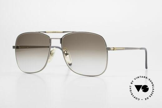 Dunhill 6038 18kt Gold Titan Sonnenbrille Details