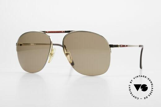 Dunhill 6022 80er Gentleman Sonnenbrille Details