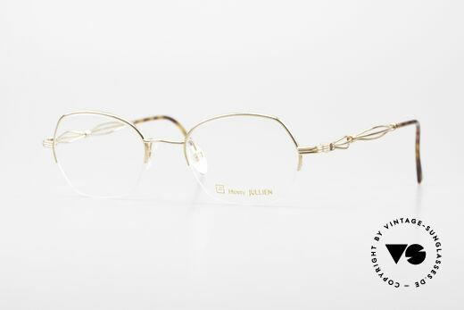Henry Jullien Ellipse 12 Gold Doublé Damenbrille Details