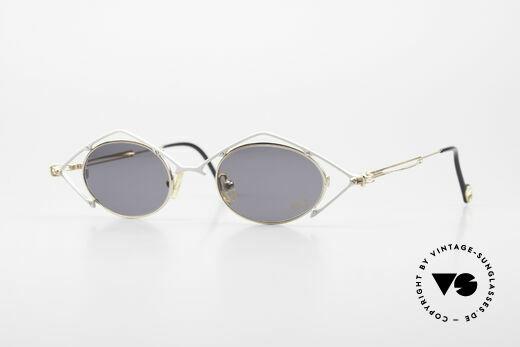 Flair EyeQ 6 Verrückte Vintage Brille 90er Details