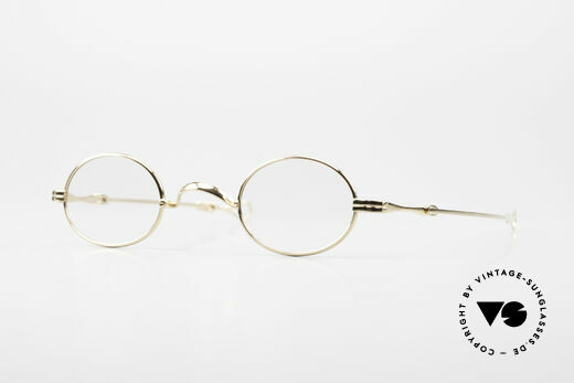 Lunor I 04 Telescopic XS Brille Oval Teleskop Gold Details