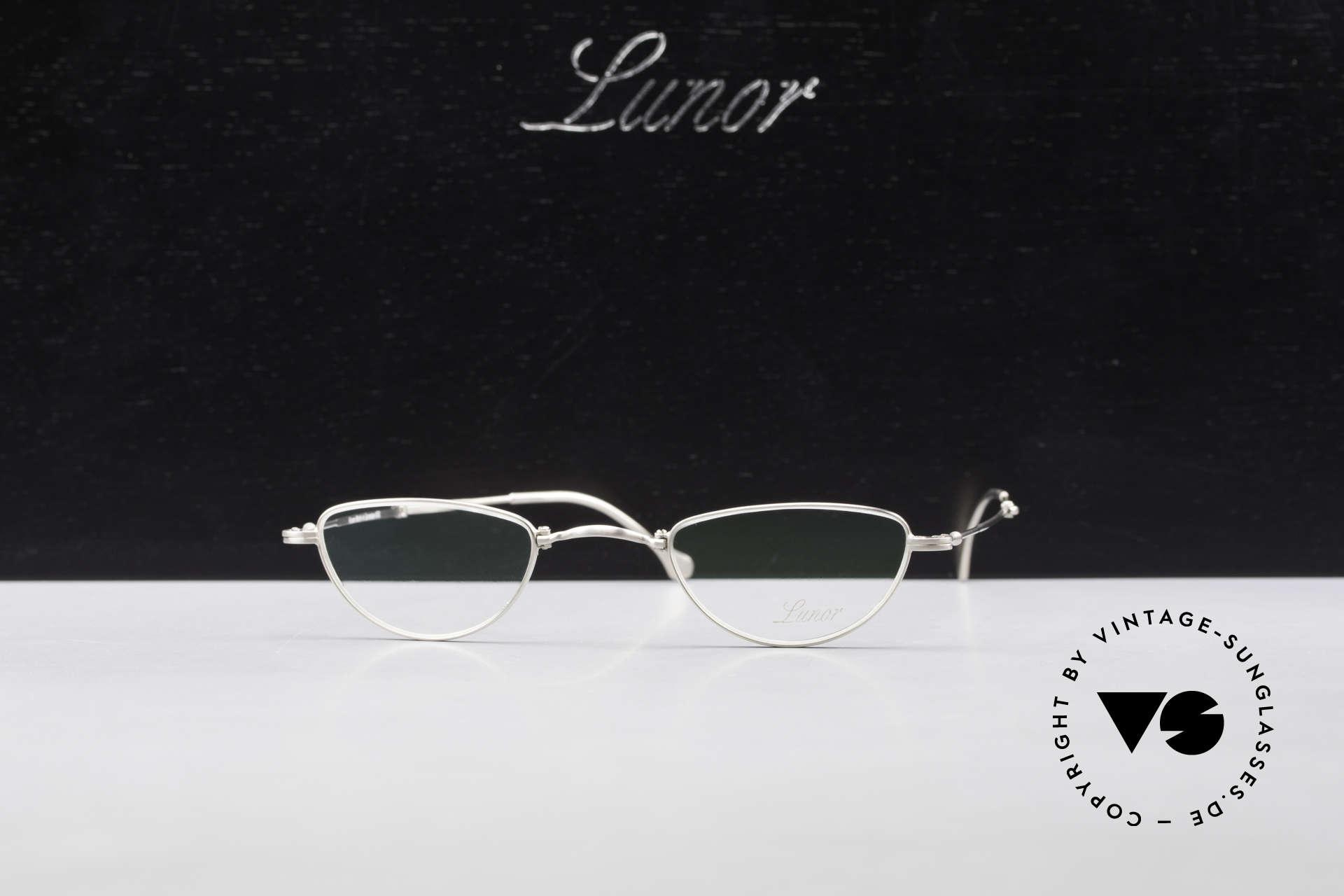 Lunor XXV Folding 06 Faltbare Lesebrille Unisex, Größe: small, Passend für Herren und Damen