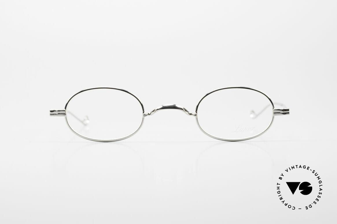 Lunor II 08 Kleine Ovale Lunor Brille, deutsches Traditionsunternehmen; made in Germany, Passend für Herren und Damen