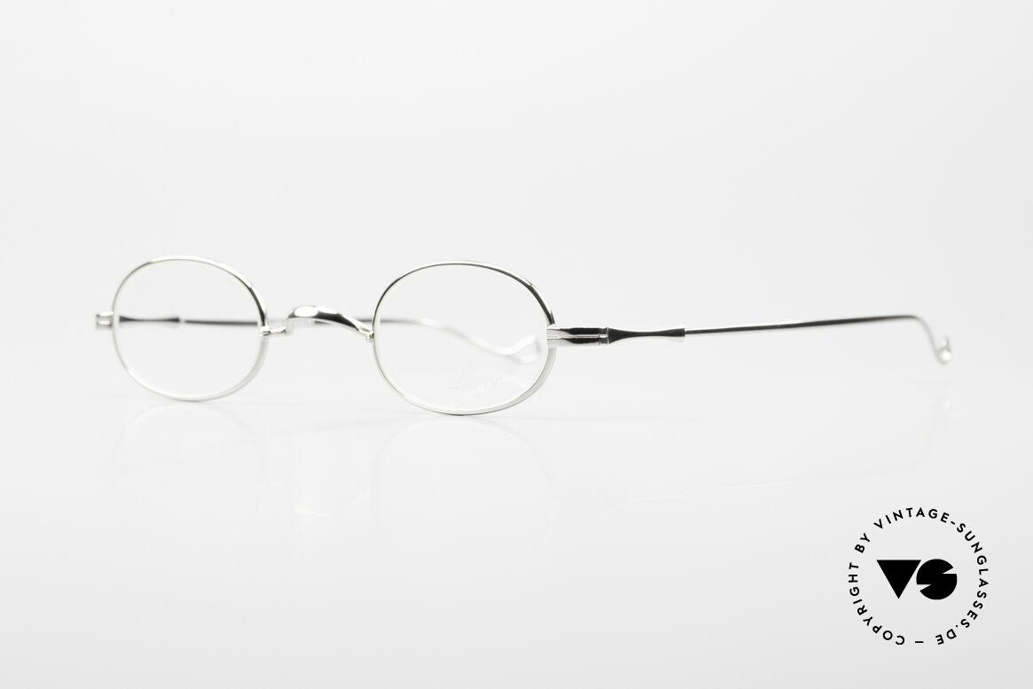 Lunor II 08 Kleine Ovale Lunor Brille, Brillendesign in Anlehnung an frühere Jahrhunderte, Passend für Herren und Damen