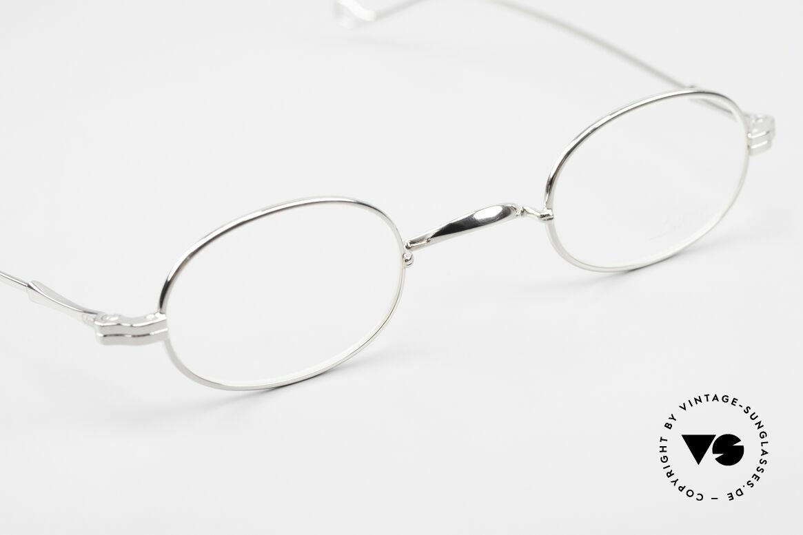 Lunor II 08 Kleine Ovale Lunor Brille, altes, ungetragenes LUNOR Einzelstück (RARITÄT!), Passend für Herren und Damen