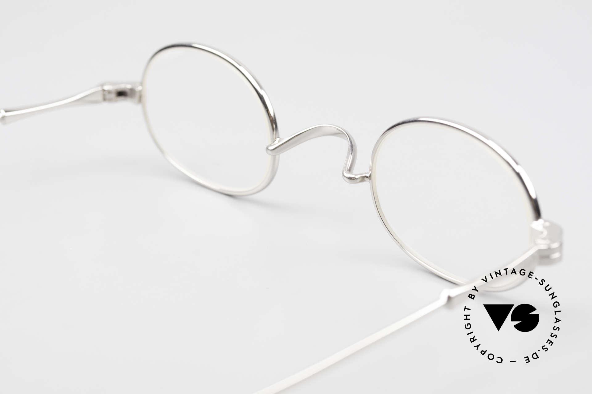 Lunor II 08 Kleine Ovale Lunor Brille, KLEINE OVALE Größe 40/25; PP = PLATIN-plattiert, Passend für Herren und Damen