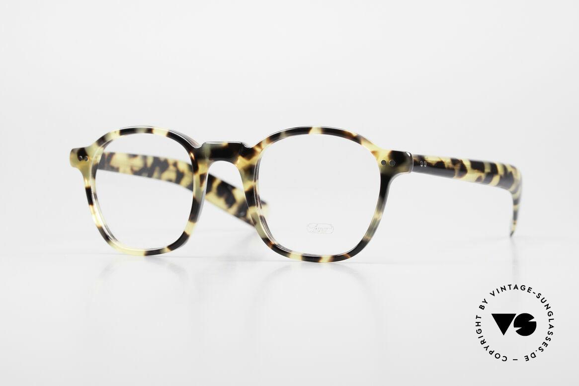 Lunor A51 Johnny Depp James Dean Brille, rare LUNOR Brille, Modell 51 aus der Acetat-Kollektion, Passend für Herren