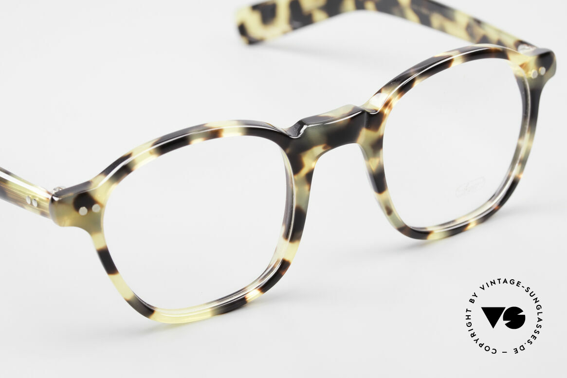 Lunor A51 Johnny Depp James Dean Brille, ungetragen (wie alle unsere legendären LUNOR Brillen), Passend für Herren