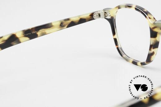 Lunor A51 Johnny Depp James Dean Brille, Rahmen kann beliebig verglast werden (optisch/Sonne), Passend für Herren