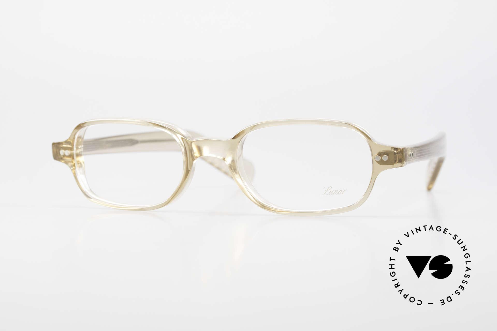 Lunor A56 Klassische Lunor Acetat Brille, Mod. 56: klassische Lunor Brille der Acetat-Kollektion, Passend für Herren und Damen