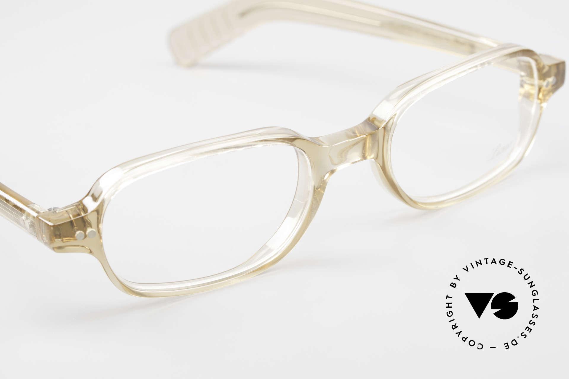 Lunor A56 Klassische Lunor Acetat Brille, ungetragen (wie alle unsere seltenen LUNOR Brillen), Passend für Herren und Damen