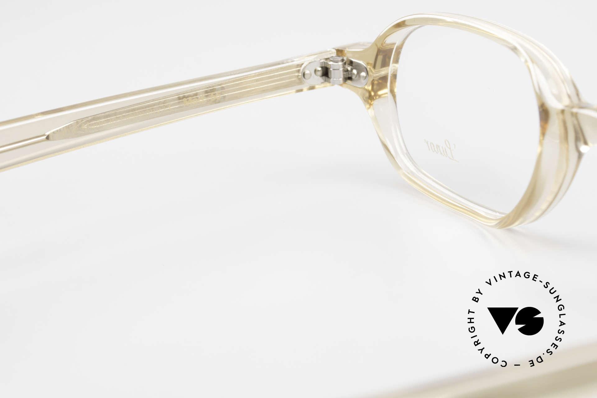 Lunor A56 Klassische Lunor Acetat Brille, Rahmen kann beliebig verglast werden (optisch/Sonne), Passend für Herren und Damen