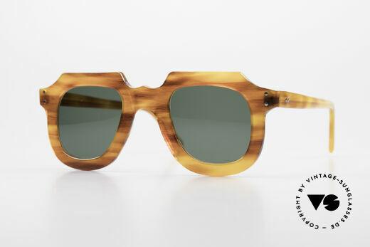 Lesca Classic 4mm 50 Jahre Alte Sonnenbrille Details