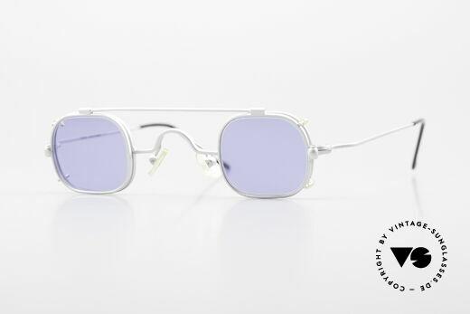 Morel 6090 Eckige Brille Mit Sonnenclip Details