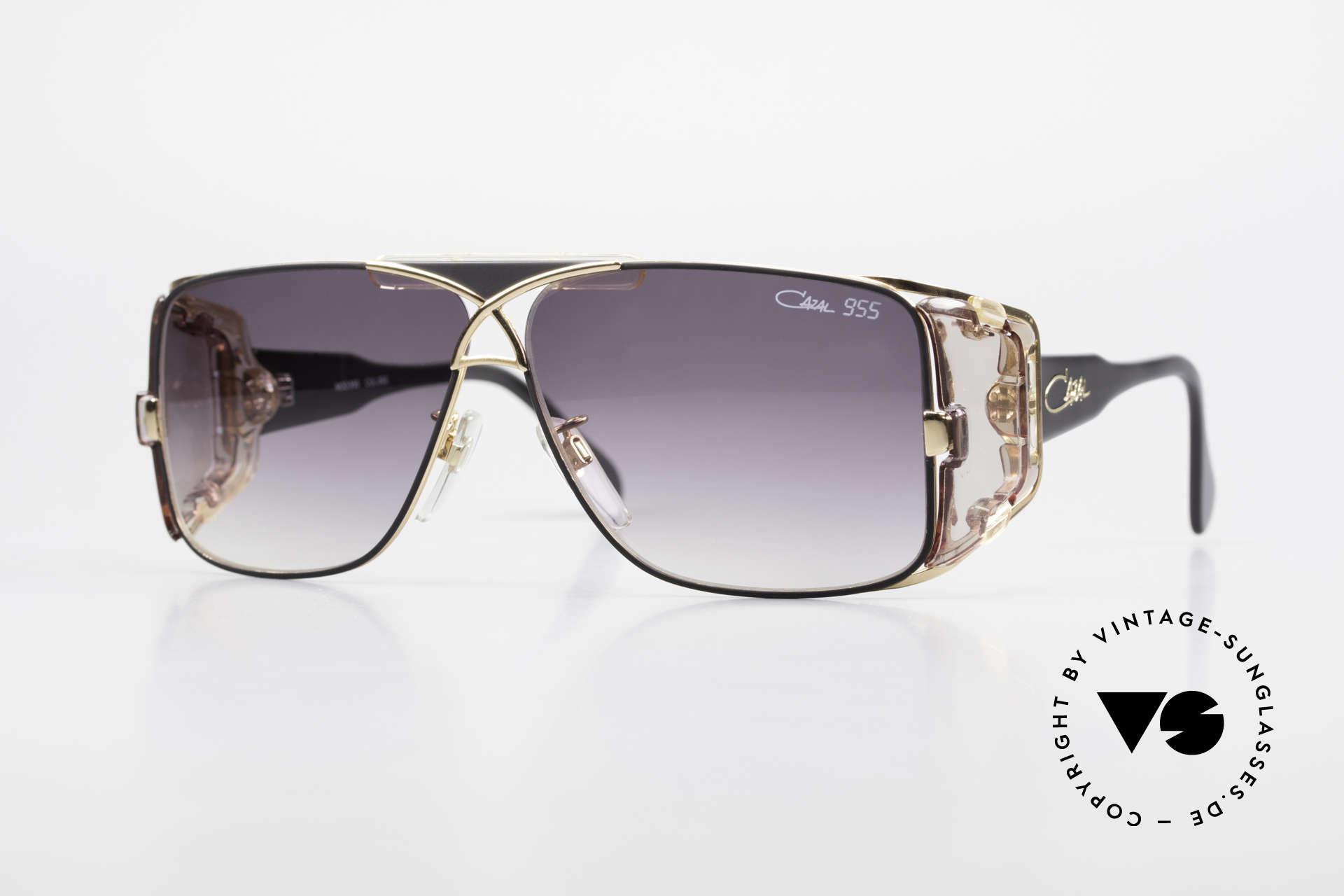 Cazal 955 80er Hip Hop Sonnenbrille, West Germany Cazal vintage Sonnenbrille von 1987, Passend für Herren