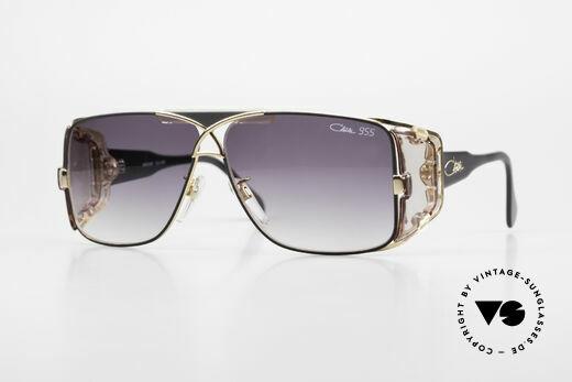 Cazal 955 80er Hip Hop Sonnenbrille Details