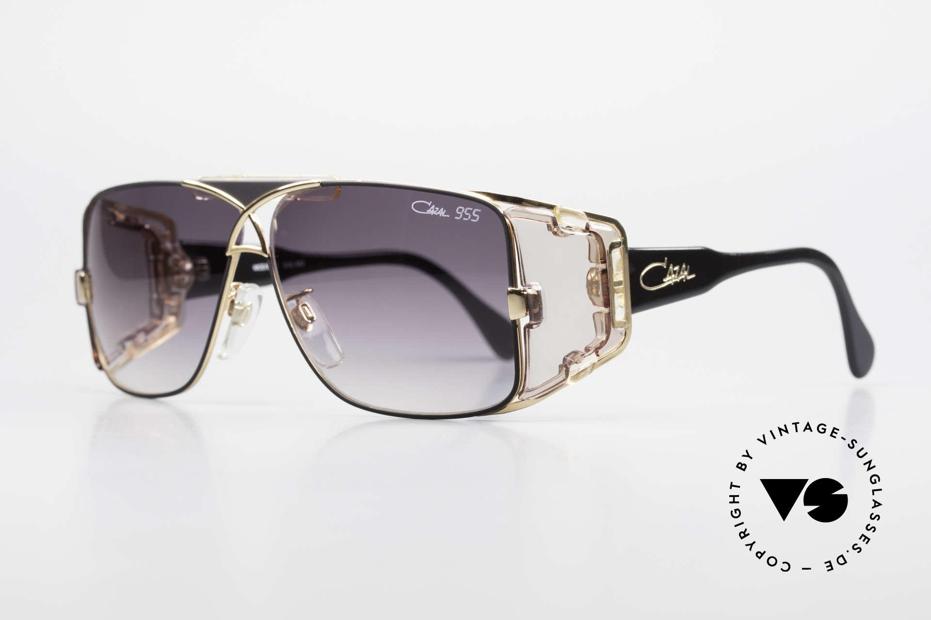 Cazal 955 80er Hip Hop Sonnenbrille, grandiose Schöpfung von CAri ZALloni (Mr. CAZAL), Passend für Herren