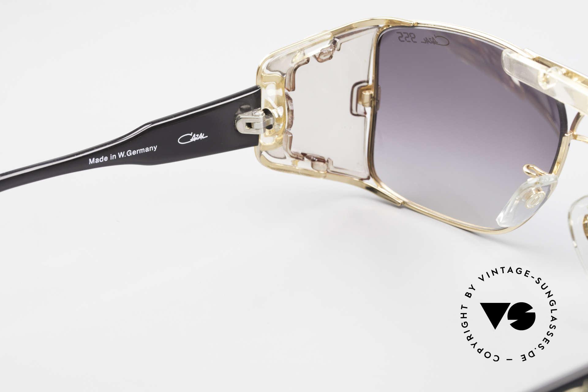 Cazal 955 80er Hip Hop Sonnenbrille, ungetragenes Sammlerstück, da 'made in W.GERMANY', Passend für Herren