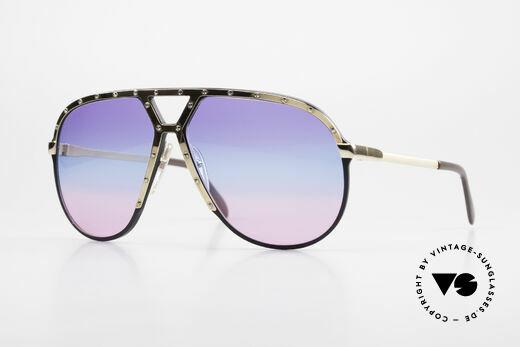 Alpina M1 80er Sonnenbrille Tricolor Details