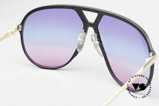 Alpina M1 80er Sonnenbrille Tricolor, KEINE RETROBRILLE; ein 35 Jahre altes Original!, Passend für Herren