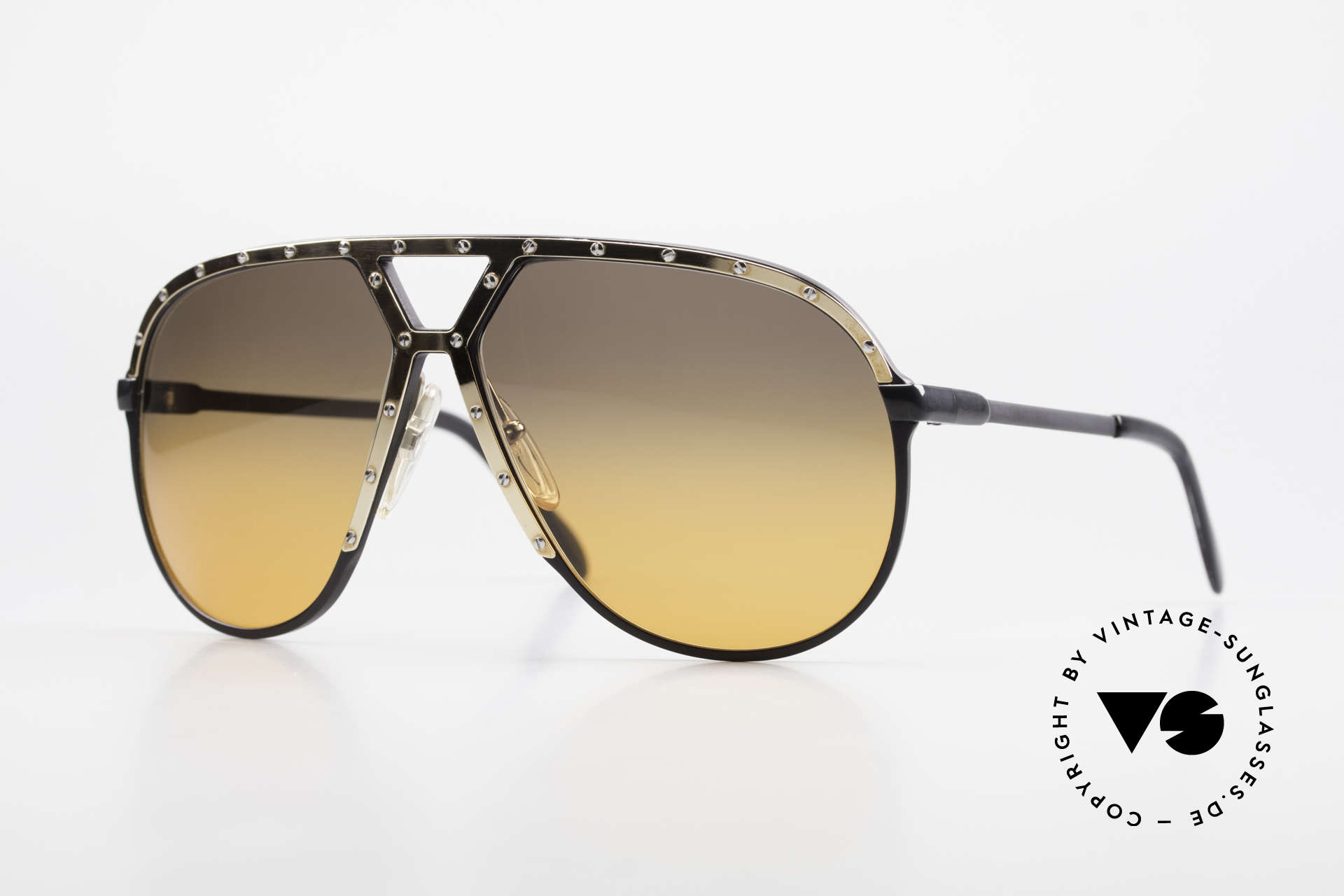 Alpina M1 80er XL Aviator Sonnenbrille, 80er W. Germany Aviator Sonnenbrille, Alpina M1, Passend für Herren