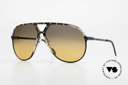Alpina M1 80er XL Aviator Sonnenbrille Details
