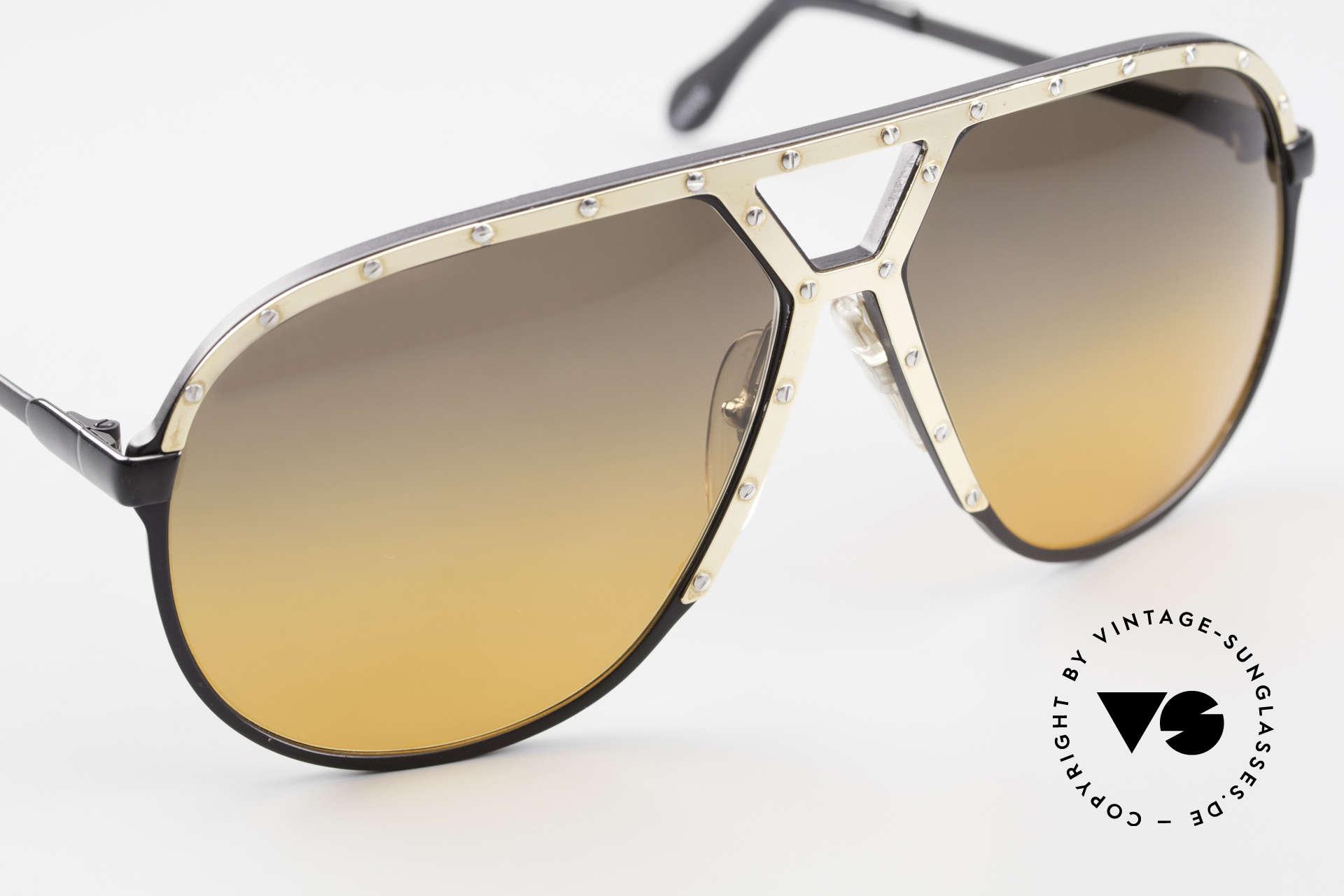 Alpina M1 80er XL Aviator Sonnenbrille, ungetragenes Sammlerstück (inkl. PORSCHE Etui), Passend für Herren