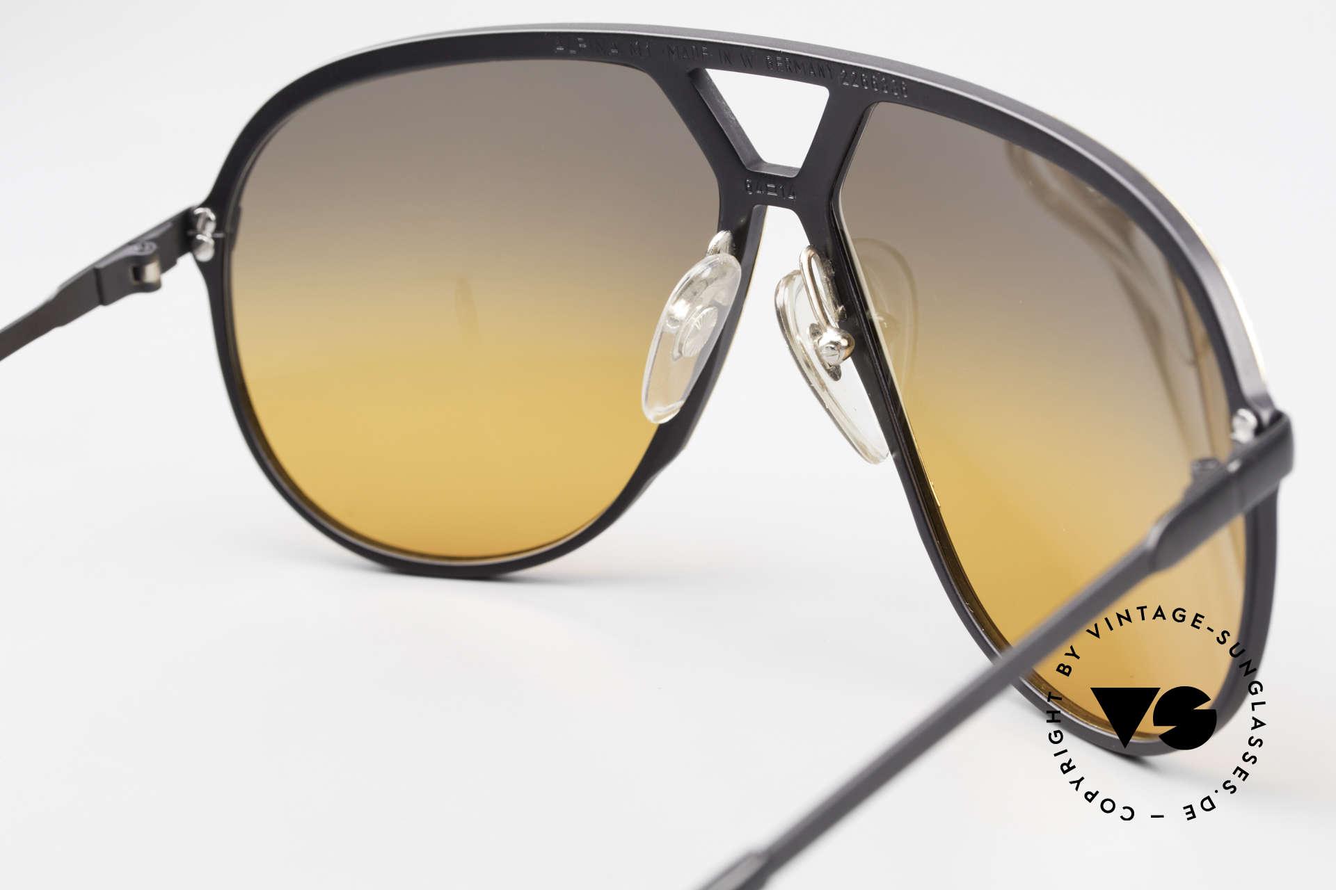 Alpina M1 80er XL Aviator Sonnenbrille, KEINE RETROBRILLE; ein 35 Jahre altes Original, Passend für Herren