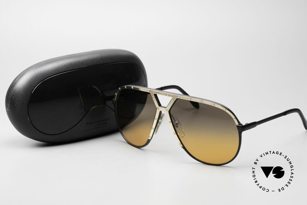 Alpina M1 80er XL Aviator Sonnenbrille, Größe: large, Passend für Herren