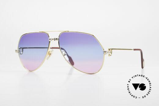 Cartier Vendome Santos - M Unikat Sammler Sonnenbrille Details