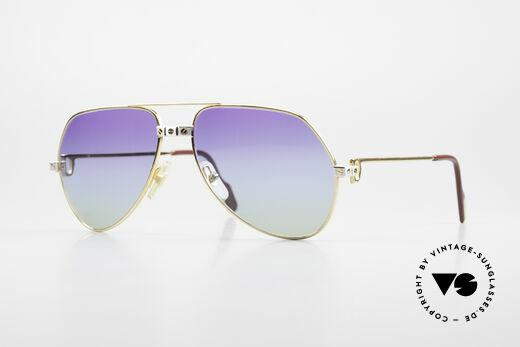Cartier Vendome Santos - M James Bond Sonnenbrille 80er Details