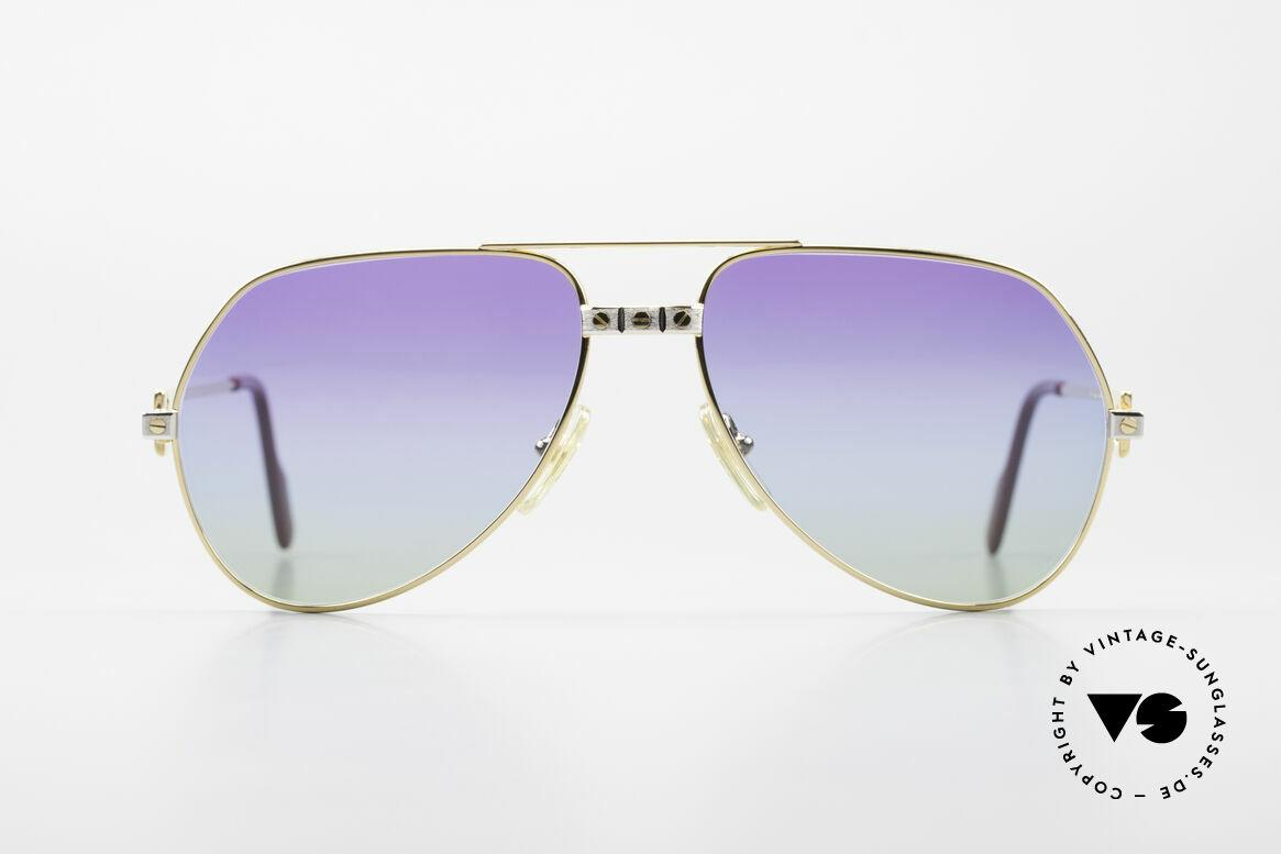 Cartier Vendome Santos - M James Bond Sonnenbrille 80er, wurde 1983 veröffentlicht & dann bis 1997 produziert, Passend für Herren und Damen