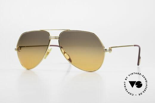 Cartier Vendome LC - M Film-Sonnenbrille Wall Street Details