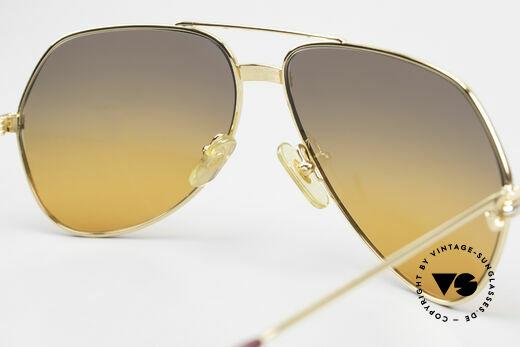 Cartier Vendome LC - M Film-Sonnenbrille Wall Street, ungetragen mit original Verpackung (ein Sammlerstück), Passend für Herren und Damen