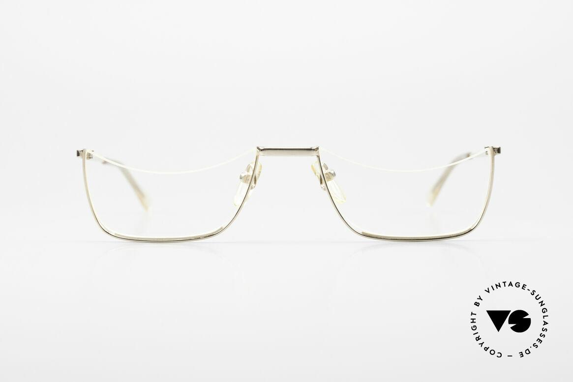 Norville Polymil Antike Lesebrille aus den 60ern, die orig. Demo-Gläser sind hier noch GEKLEBT!, Passend für Herren