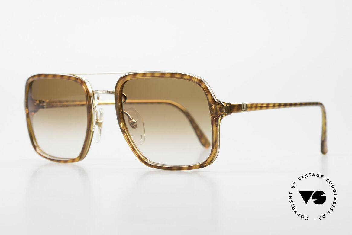 Dunhill 6059 Rare 80er Herren Sonnenbrille, fühlbare Top-Qualität & beste Passform (sehr robust), Passend für Herren