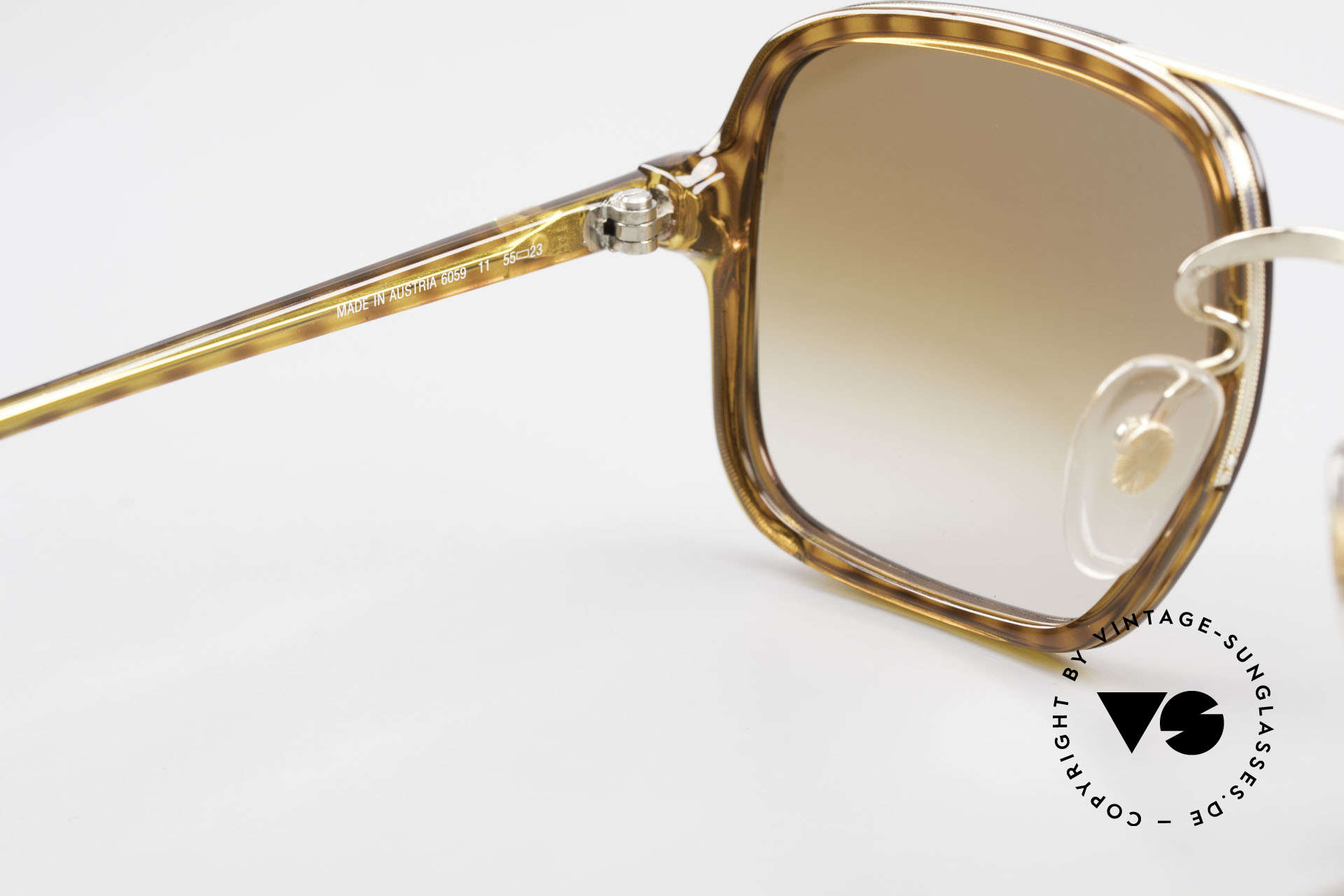 Dunhill 6059 Rare 80er Herren Sonnenbrille, KEINE RETRObrille; ein echtes altes 80er Jahre Unikat, Passend für Herren