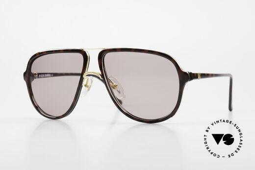 Dunhill 6058 Alte 80er Herren Sonnenbrille Details