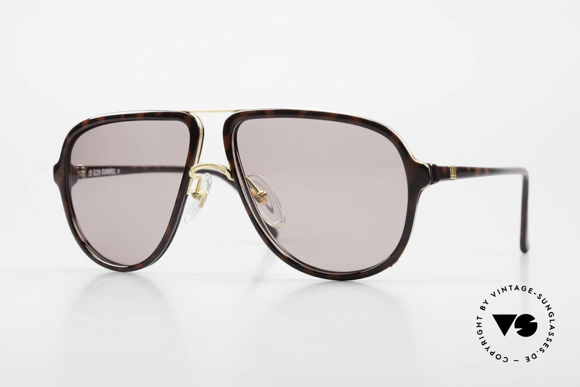 Dunhill 6058 Alte 80er Herren Sonnenbrille, sehr markante Dunhill vintage Sonnenbrille von 1986, Passend für Herren