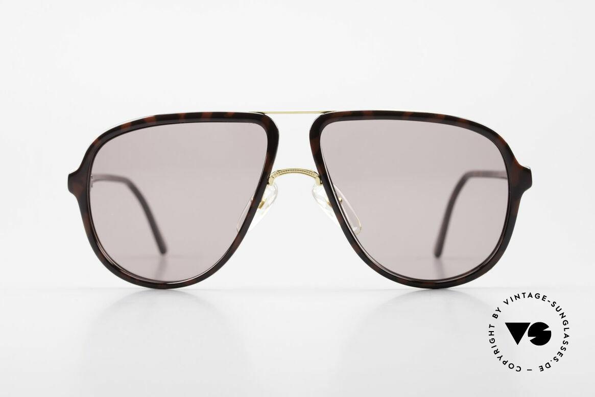Dunhill 6058 Alte 80er Herren Sonnenbrille, enorm hochwertiges Optyl Gestell; zudem VERGOLDET, Passend für Herren