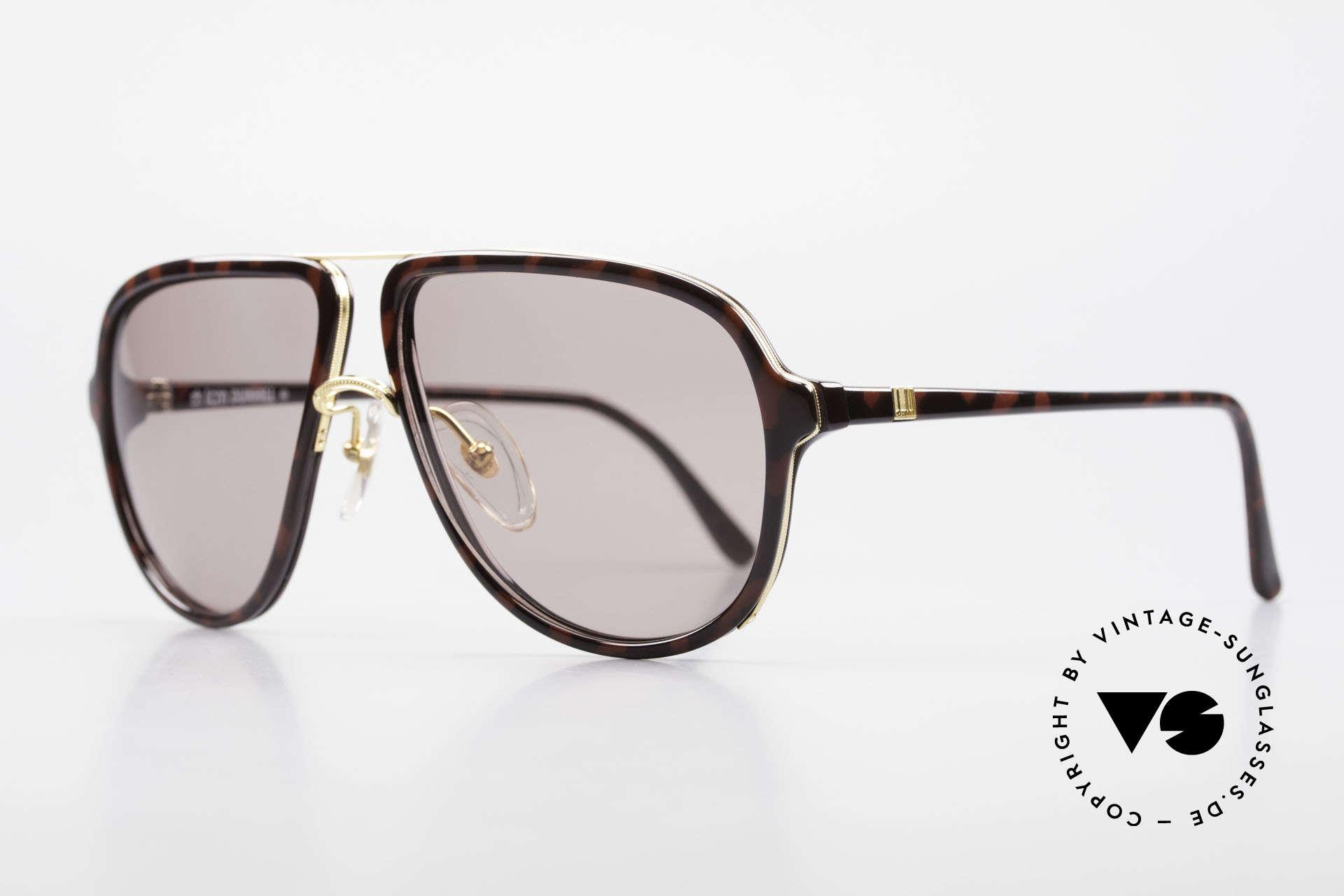 Dunhill 6058 Alte 80er Herren Sonnenbrille, fühlbare Top-Qualität & beste Passform (sehr robust), Passend für Herren